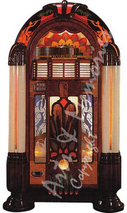 ne confondez plus les juke box r plicas cd wurlitzer. Black Bedroom Furniture Sets. Home Design Ideas