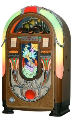 les prix des jukeboxes neufs arts prototypes jukeboxes wurlitzer rock ola enceintes. Black Bedroom Furniture Sets. Home Design Ideas