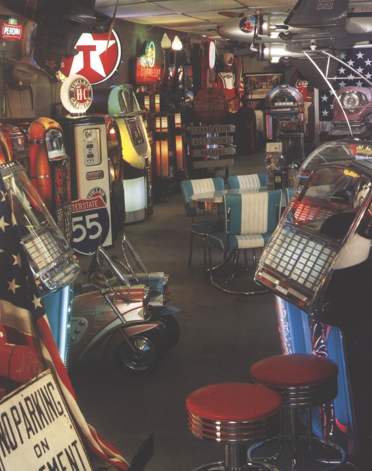 Le showroom 50's de Jukebox-France